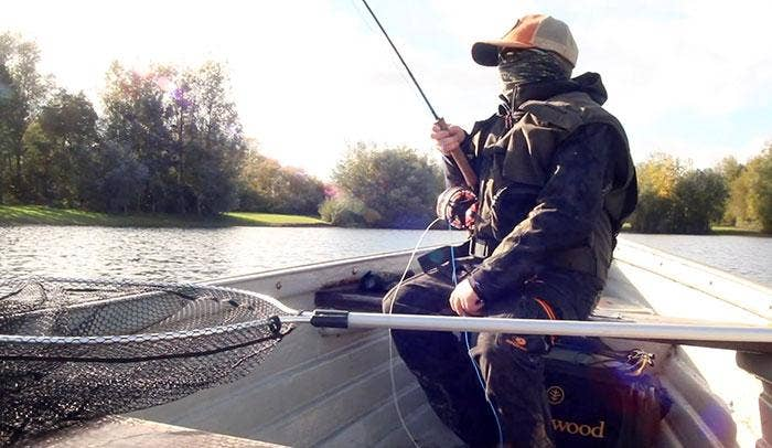 Junior Angler James Shows Kids Just How Cool Fishing Is