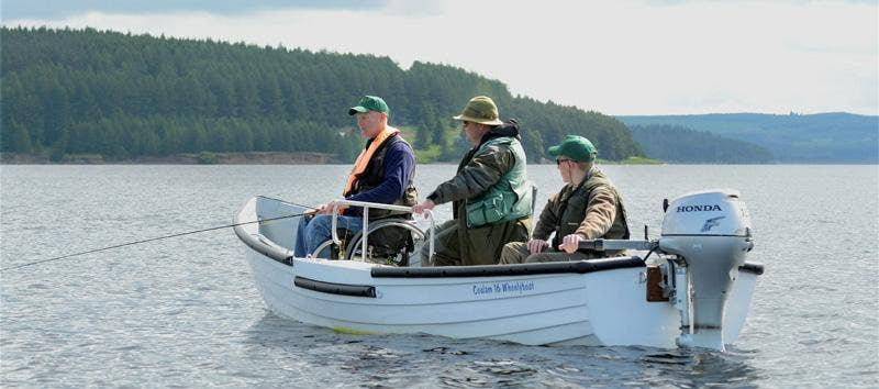 The Wheelyboat Trust – Making angling accessible