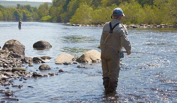 Top Tips for Low Water Salmon Fishing