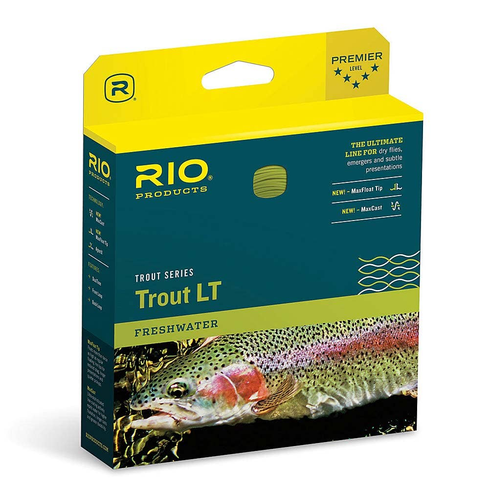 Rio trout lt fly line rio trout fly lines sportfish for Rio fly fishing