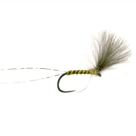 Fulling Mill Quill Plume Tip CDC Barbless Dry Fly