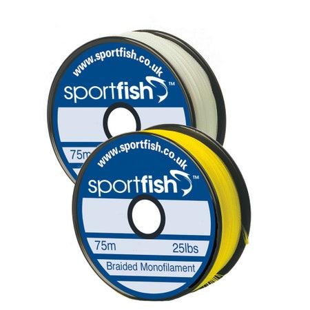 Sportfish Braided Monofilament Backing