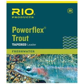 RIO Powerflex Trout 9ft Leaders