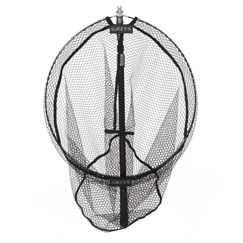 Greys gx telescopic folding fishing net greys nets for Collapsible fishing net