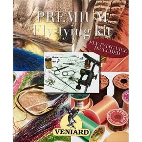 Veniards Premium Fly Tying Kit & Fly Tying Vice