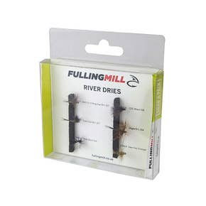 Fulling Mill Grab A Pack River Dries Fly Set