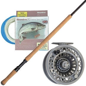 Shakespeare Oracle Salmon Fly Fishing Kit