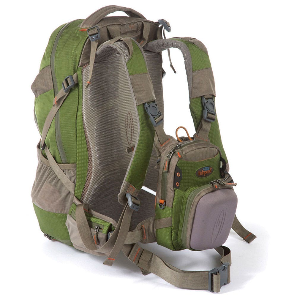 Fishpond bitch creek backpack fishing packs sportfish for Backpack fishing rod