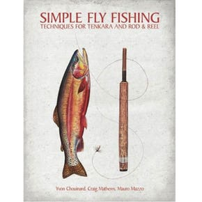Simple Fly Fishing Techniques for Tenkara Book