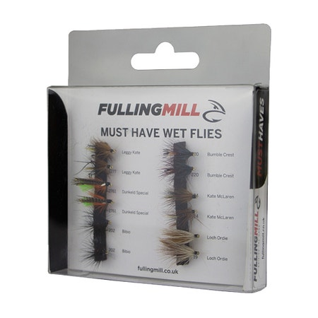 Fulling Mill Must Have Wet Fly Set