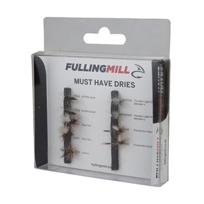 Fulling Mill Must Have Dry Fly Set