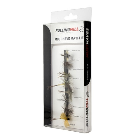 Fulling Mill Must Have Mayflies Fly Set