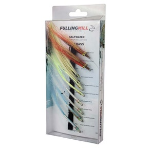 Fulling Mill Premium Selection Sea Bass Fly Set
