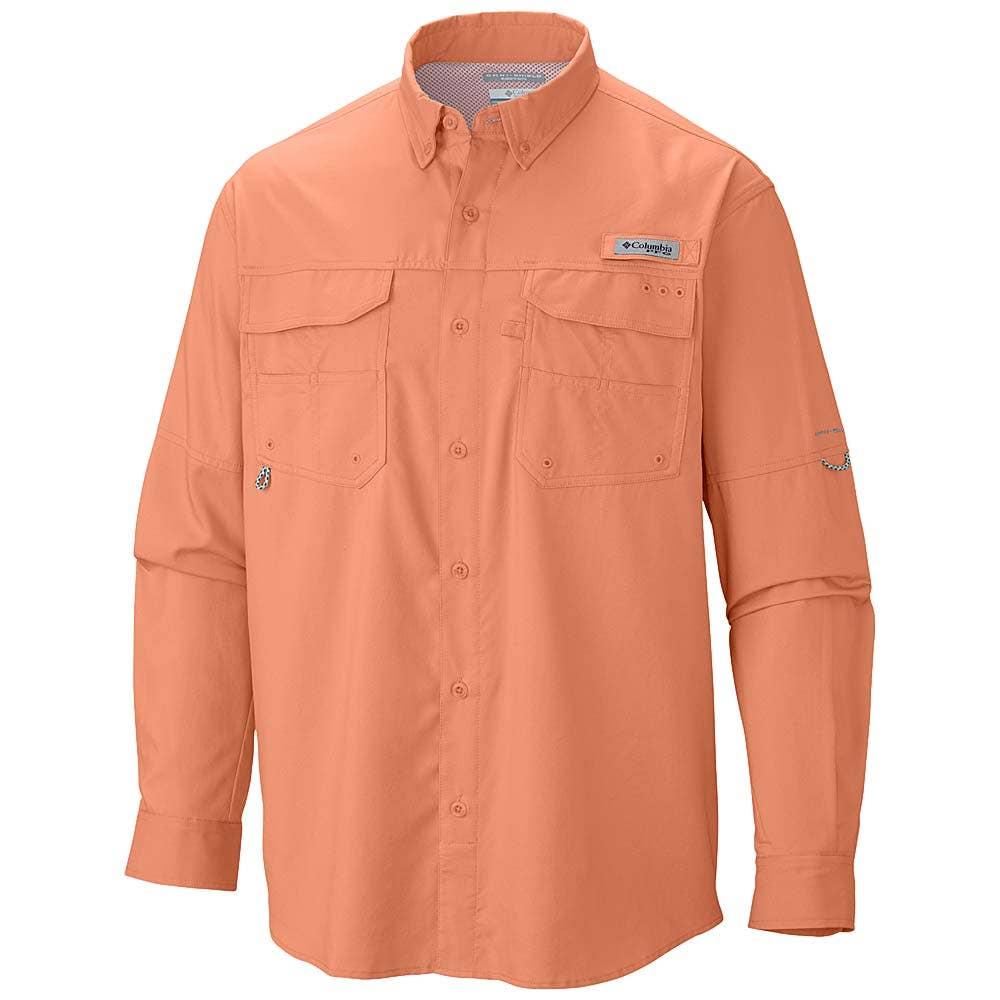 Columbia pfg blood guts long sleeved shirt sportfish for Fishing shirts on sale