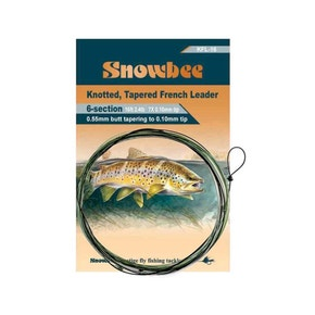 Snowbee Knotted Tapered French Leader