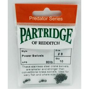 Partridge Power Swivels