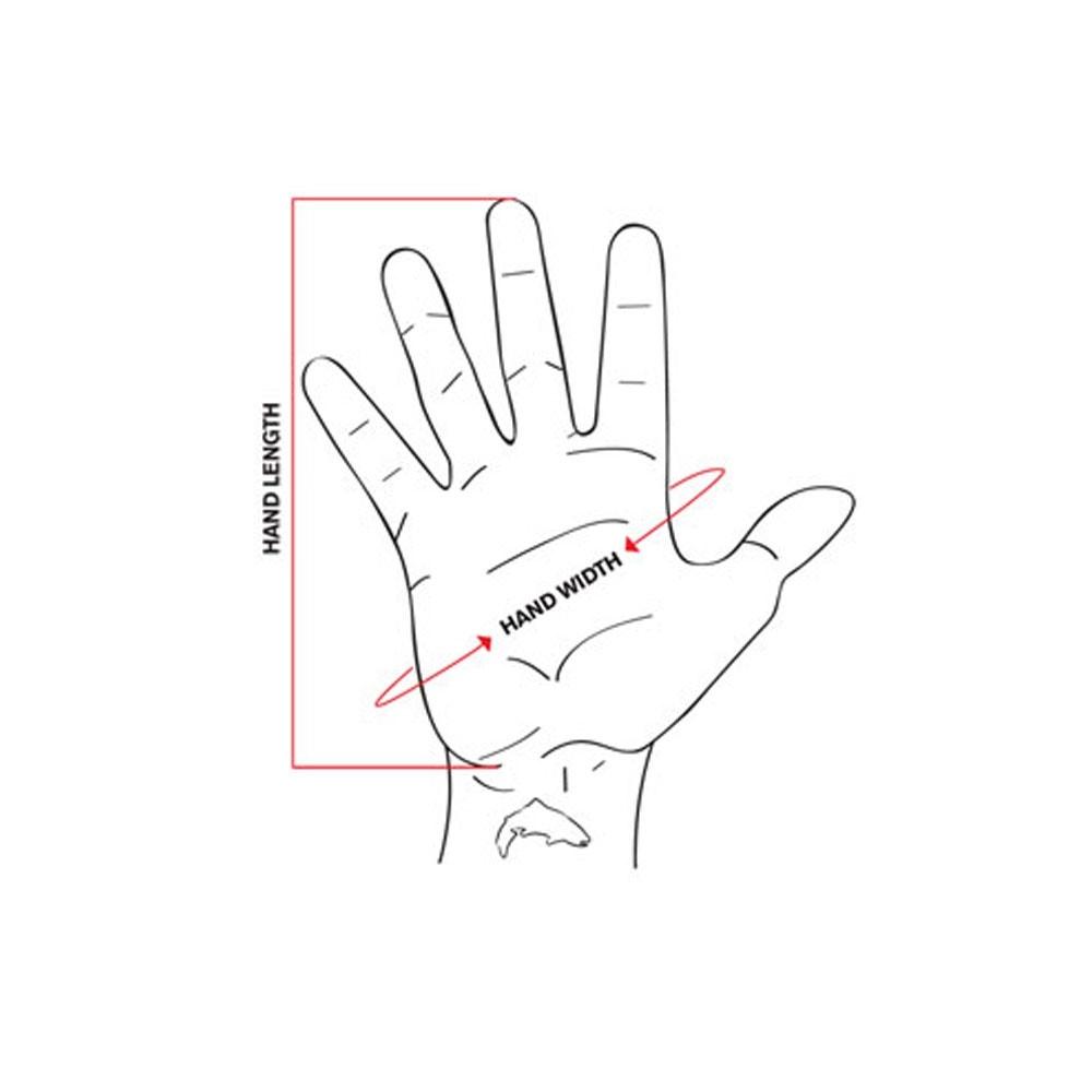 Simms Guide Windbloc Half Finger Glove