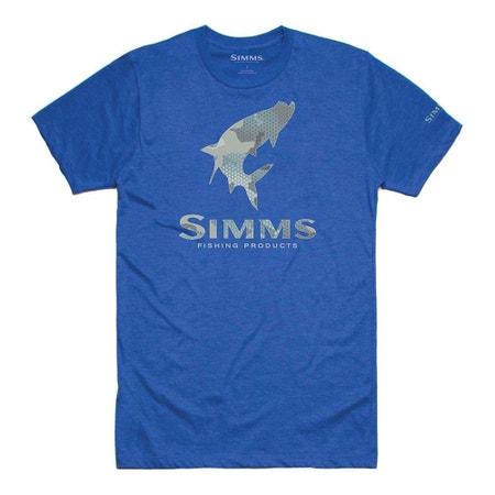 Simms Tarpon Hex Flo Camo T-Shirt