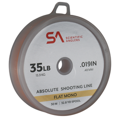 Scientific Anglers Absolute Flat Mono Shooting Line