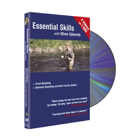 Essential Skills DVD 1 with Oliver Edwards - Czech Nymphing / Upstream Nymphing and North Country Spiders