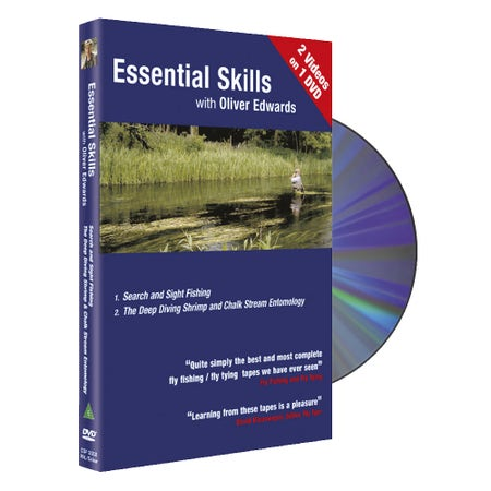 Essential Skills DVD 2 with OLiver Edwards - Seach and Sight Fishing / The Deep Diving Shrimp and Chalk Stream Entomology