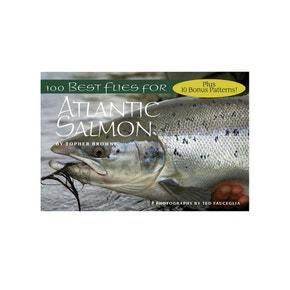 100 Best Flies For Catching Atlantic Salmon Book