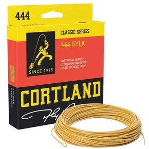 Cortland 444 Sylk Mustard Floating Fly Line