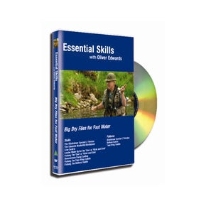 Essential Skills DVD 5 with Oliver Edwards - Big Dry Flies for Fast Water