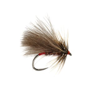 Fulling Mill Barbless Rozas Red Butt Caddis