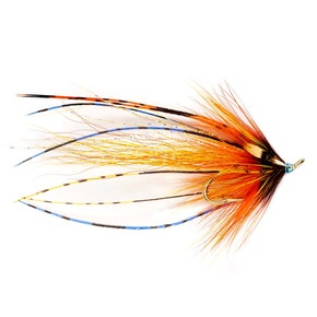 Fulling Mill RS Squid Hot Orange Salmon Double