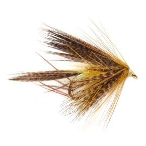 Fulling Mill Hackled Wet McPhail Leggy Dabbler Claret Olive
