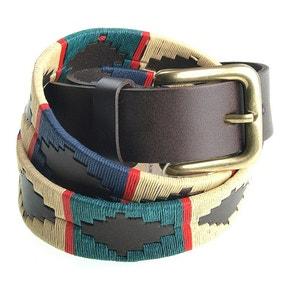 Pioneros Polo Belt - Red Stripe