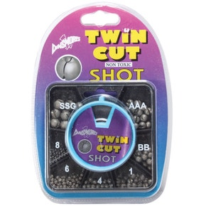 Dinsmore Twin Cut Shot 7 Compartment Square Dispenser