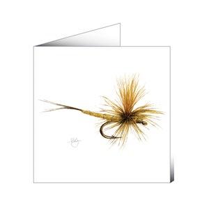 Mayfly Art Greetings Card - Mayfly