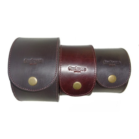 J.P Leather Fly Reel Case