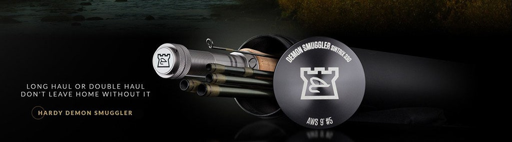 WIN A HARDY DEMON SMUGGLER SINGLE HANDED FLY ROD - WORTH UP TO £449