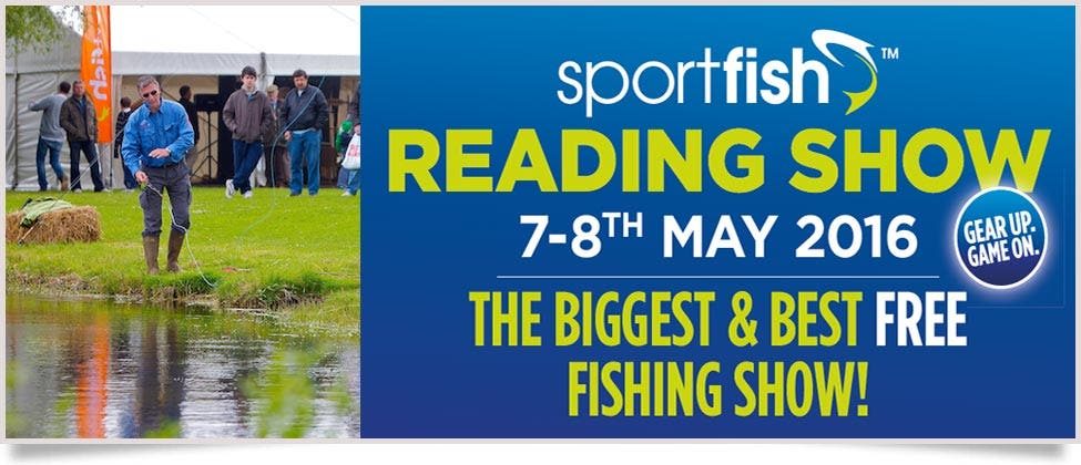 Sportfish Reading Show Weekend, May 7th and 8th 2016