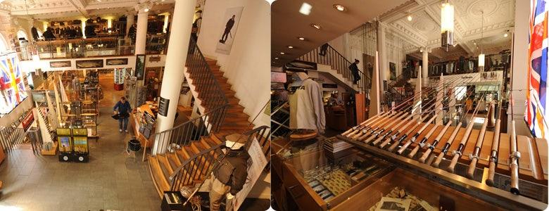 Farlows store inside
