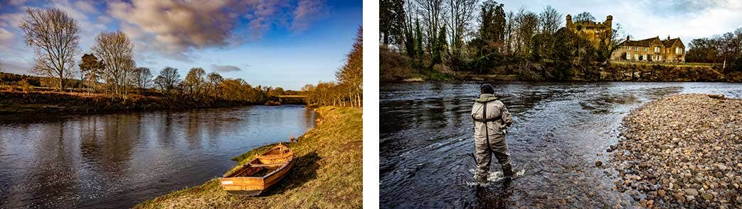 Salmon Fishing Course on the River Tyne