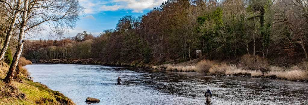 Fly Fishing Course on the River Tyne