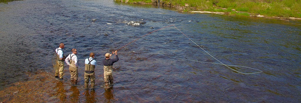 Fly Fishing Lessons and Courses