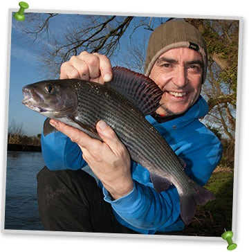 Lovely Grayling Caught by Ian