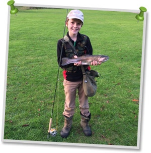 Young Lad Troy Wins Catch of the Day