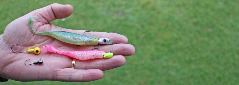 Lure Fishing Hooks & Jig Heads