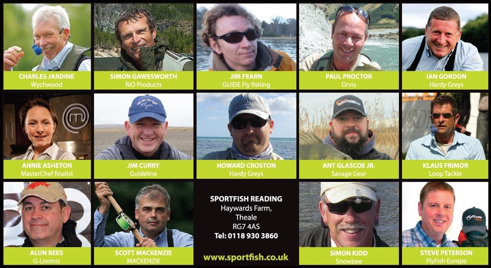 Sportfish Reading Show
