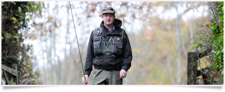 a fly fishing vest, Fishing Gear