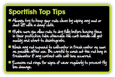 Top Tips for Fly Rods