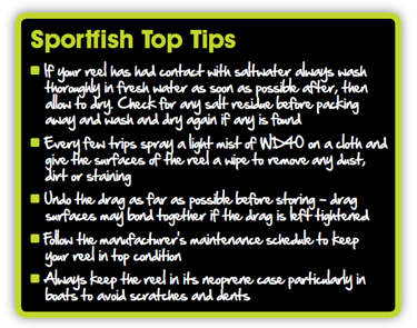 Fly Reel Top Tips