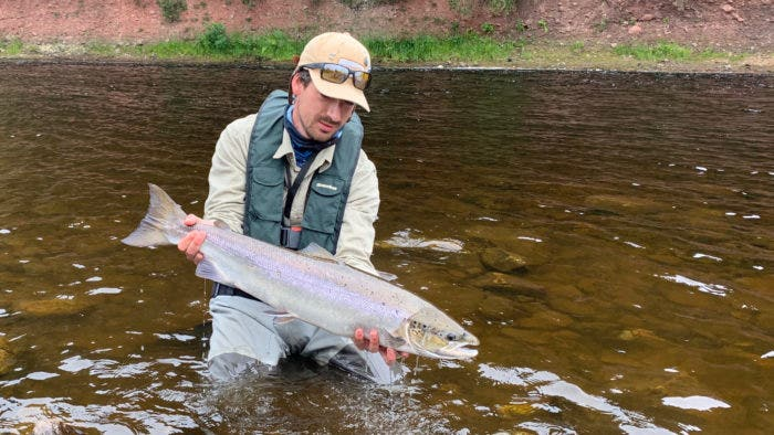 This blog will hopefully help you connect with your first salmon